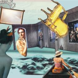 Passage (collage papier)