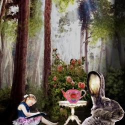 Alice (collage numérique)