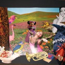 Célébration (collage papier)