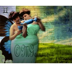 Gémeaux (collage numérique)