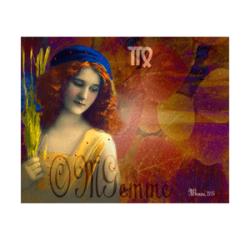 Vierge (collage numérique)